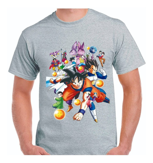 Remera Dragon Ball - Goku -dibujos - Manga