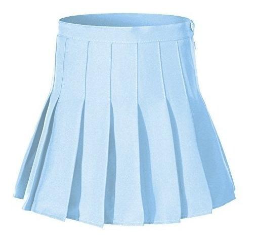 Faldas De Tenis De Mujer De Cintura Alta Plisada Y Talla Gra