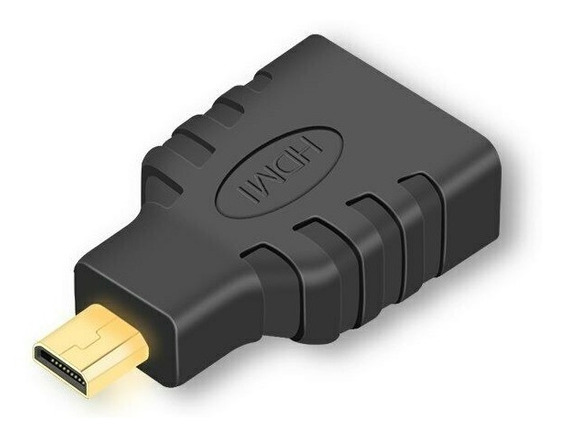 Adaptador Micro Hdmi Para Hdmi - Cameras Filmadoras Tablets