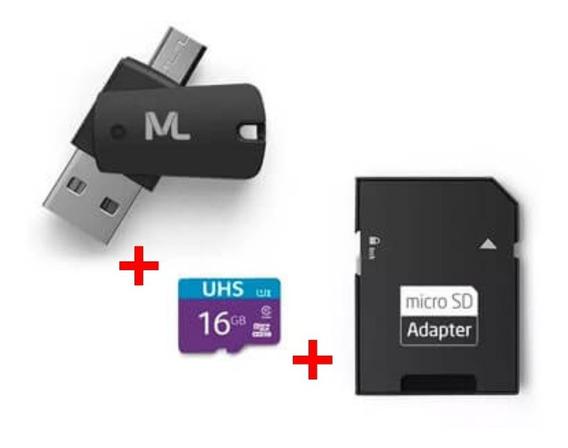 Cartão De Memória Ultra High Speed-i 16gb Até 80 Mb/s