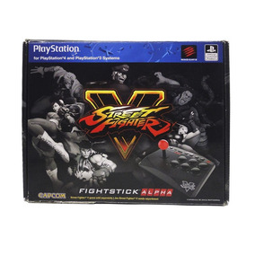 Controle Fightstick Alpha Arcade Street Fighter V Ps4 E Ps3