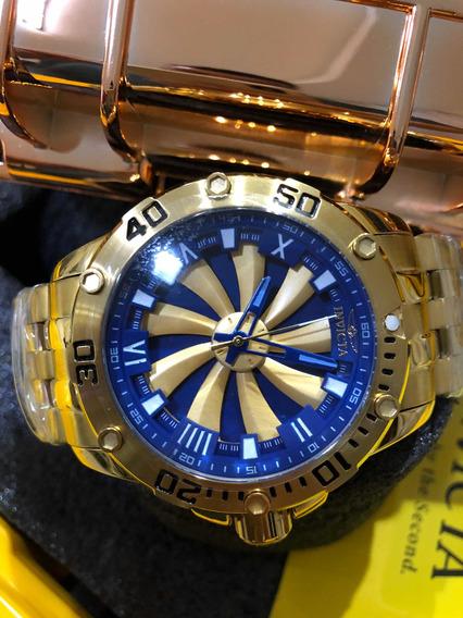 Relogio Invicta Speedway Azul + Caixa Original