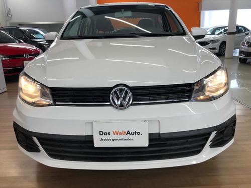 Imagen 1 de 14 de Volkswagen Gol 2017 1.6 Trendline Mt 4 P