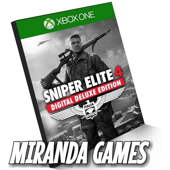 Sniper Elite 4 Deluxe Edition Xbox One Midia Digital