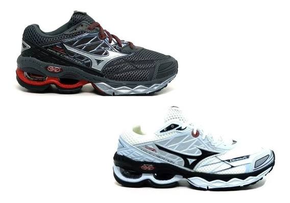 Kit Promocional 2 Pares Mizuno Wave Creation 20