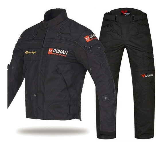 Conjunto Campera Pantalon Moto Lluvia Impermeable + Termico