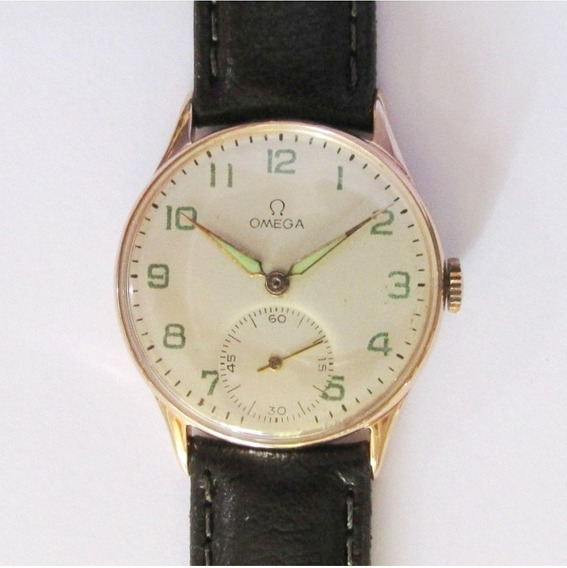 Relógio Pulso Omega 30 T2 Swiss 1941, Folhado A Ouro Rosê