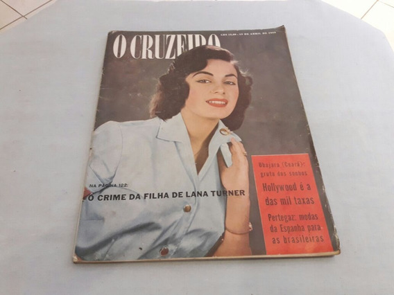 O Cruzeiro 19/04/58 Getúlio Vargas/guaira/nordeste Do Brasil