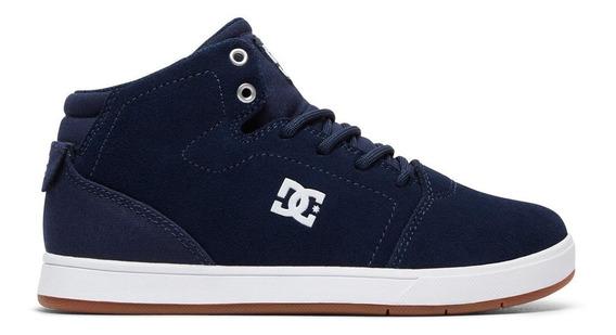 Tenis Dc Shoes Para Caballero Crisi High Marino