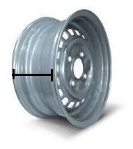 Roda Do Fusca Arox15 Rodabras Tala 5,5 Nova