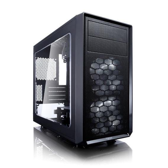 Gabinete Fractal Design Focus G Mini Negro, Atx, Ventana