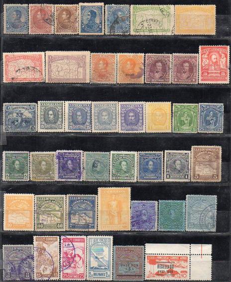 Venezuela 1882/2013. Lote Con 155 Sellos, Mayoria Usados