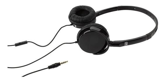 Headphone Com Microfone E Controle De Funções No Cabo Sv5352