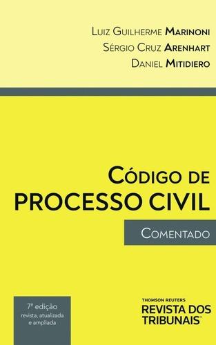 Imagem 1 de 1 de Código De Processo Civil Comentado-7ª Edição - 2021 - Novo