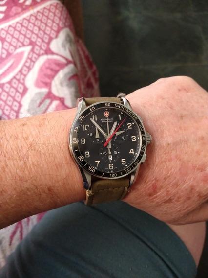 Relógio Victorinox-muito Bonito-safira