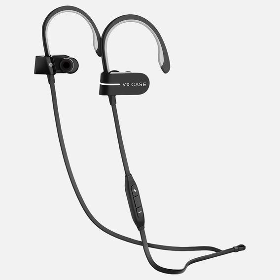 Fone Bluetooth Vx Case Professional Run V5 Preto