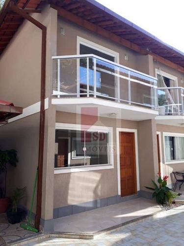 Casa Com 2 Quartos, Varanda, 2 Vagas, A 1km Da Feirinha Do Alto - Ca0732
