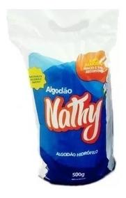 Algodão Rolo Hidrófilo 500gr Nathy 10 Rolos