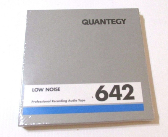 Fita De Rolo Ampex Quantegy 642 1/4 1800ft. 7 Lacrada