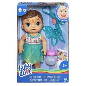 Baby Alive - Hora Da Festa Morena- Hasbro
