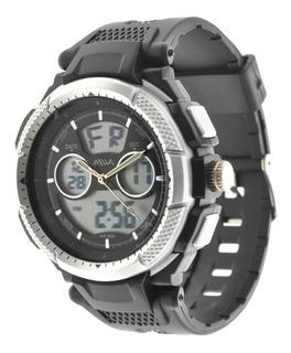 Reloj Hombre Sumergible Aiwa Digital Analógico Sport 5atm