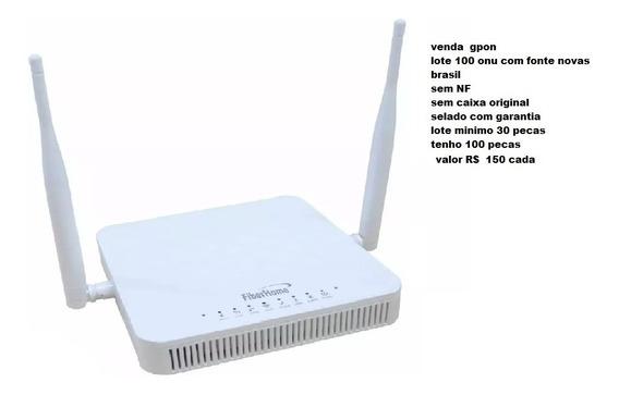 Onu Com Wifi Lote Semi Novas 20 Pecas