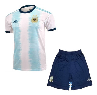 Kit Infantil Argentina 2020 - Dybala, Messi, Lautaro, Agüero