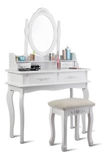 Liquidación Cómoda Tocador Vanity Makeup Dresser Mediano