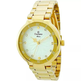 Relógio Champion Feminino Cn25403h Dourado - Loja Oficial