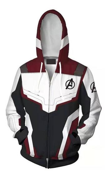Avengers 4zipper Rebeca Abrigo Encapuchado Tops Hombres S -5