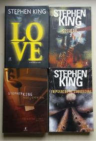 Livro Coleção Stephen King 2 Volumes Editora Objetiva