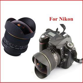 Lightdow 8mm F/3.5 Ultra Wide Angle Fisheye Lens For Nikon