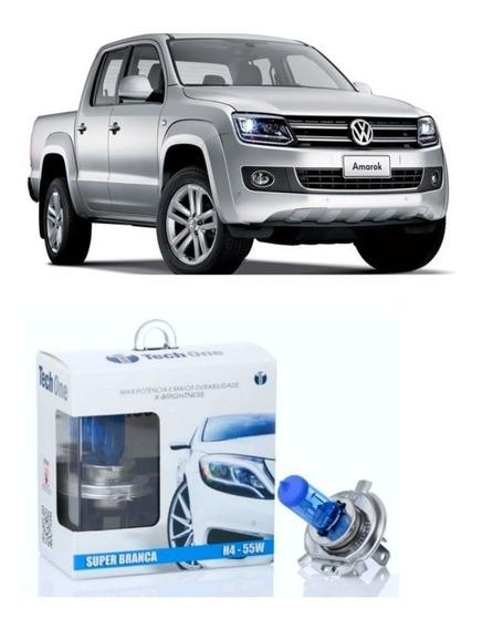 Lampada Super Branca H7 Baixo Volkswagen Amarok