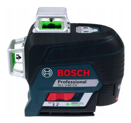 Imagem 1 de 2 de Nível laser de linhas Bosch GLL 3-80 CG 30m