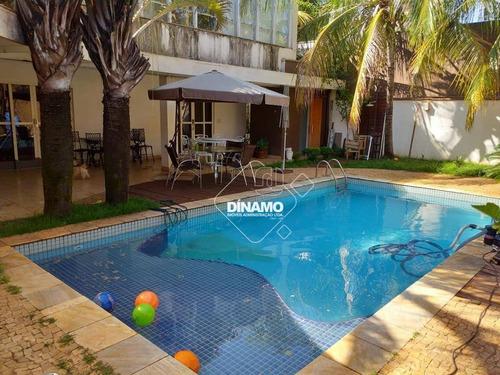 Casa Com 4 Dormitórios, Venda Ou Aluguel - Jardim Sumaré - Ribeirão Preto/sp - Ca1538