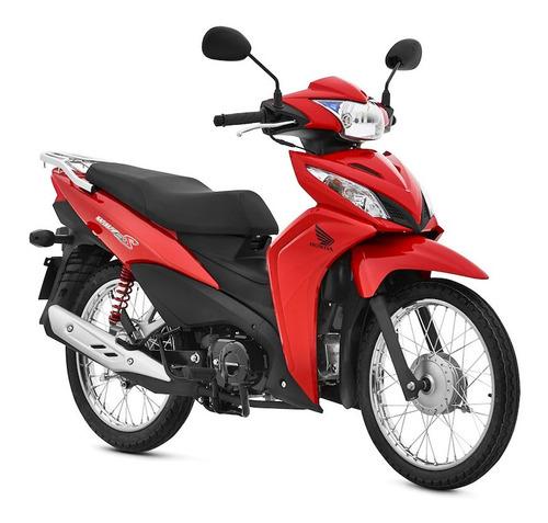 Moto Honda Wave 110 0km 2021 Rojo