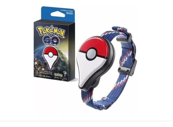 Pulseira Bluetooth Pokemon Go Plus Nintendo Original -