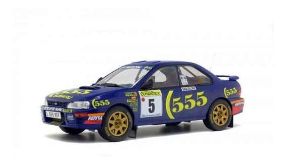 Subaru Impreza Rallye Monte Carlo 1995 1:18 Solido