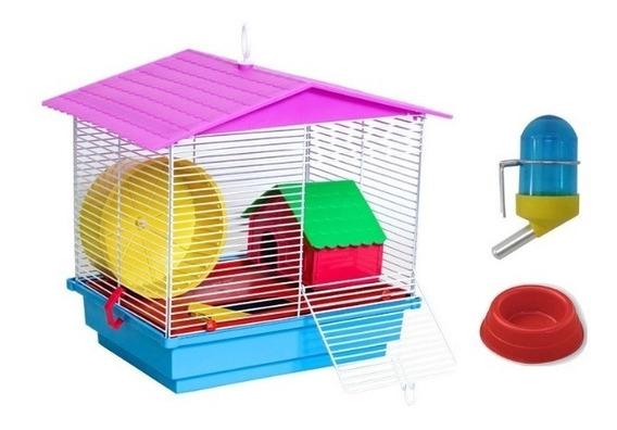 Gaiolinha Completa Para Criar Hamster Topolinos