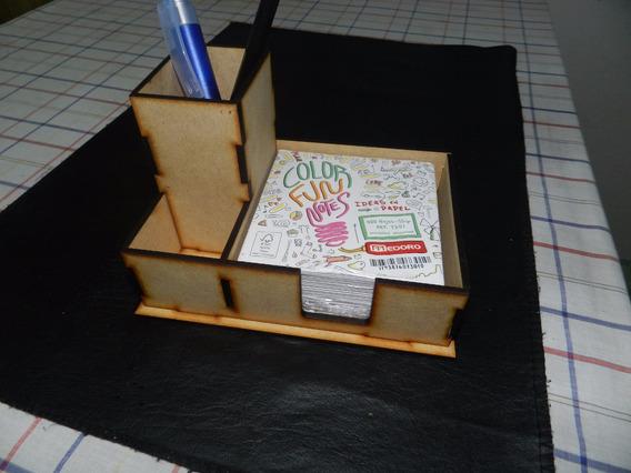 Porta Taco Lapicero En Mdf Fibrofacil 30 Unidades