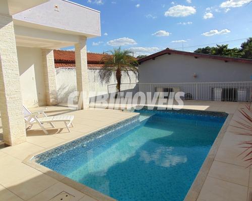 Imagem 1 de 29 de Casa À Venda 3 Dormitórios No Bairro Parque Taquaral Em Campinas - Ca06222 - Ca06222 - 69376069