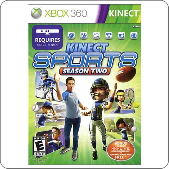 Jogo Kinect Sports Season Two Xbox 360 Midia Fisica Original
