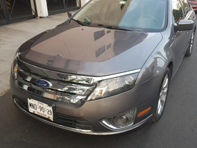 Ford Fusion Sel Aut. Piel, Quemacocos, 6 Cilindros Impecable