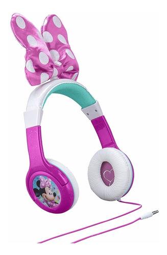 Minnie Mouse Bow Headphones Audífonos Junior Niñas