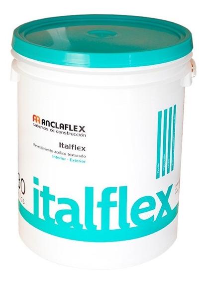 Revestimiento Acrilico Italflex Texturado Txm 30. Kg. Blanco