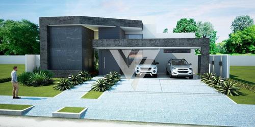 Imagem 1 de 3 de Casa Com 4 Dormitórios À Venda,  Alphaville Nova Esplanada - Votorantim/sp - Ca1770