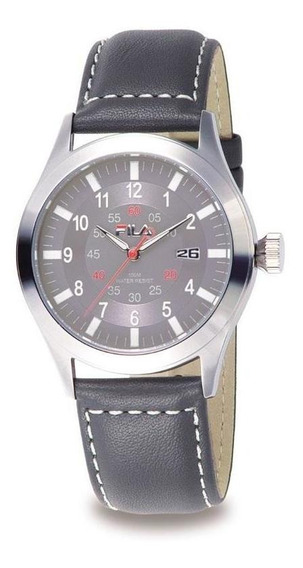 Relógio De Pulso Fila Masculino Pulseira Couro Fl403-03
