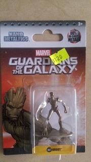 Nano Figura De Metal Groot Guardianes De La Galaxia Marvel
