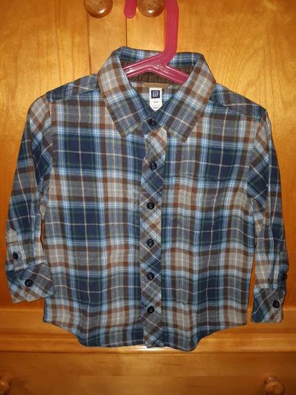 *baby Gap* Camisa Para Niño Talle 3 Años