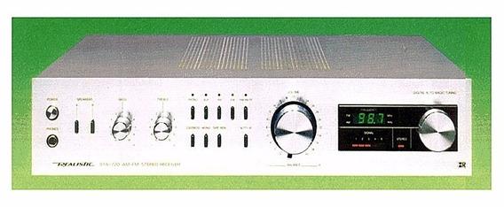 Esquema Elétrico Receptor Estéreo Am Fm Sta 720 Realista